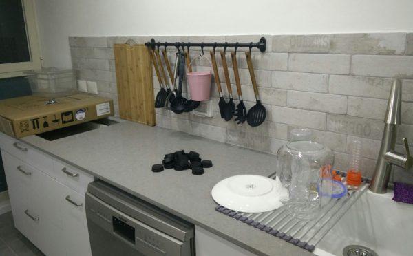 מטבח הבית המשופץ בזכרון יעקב